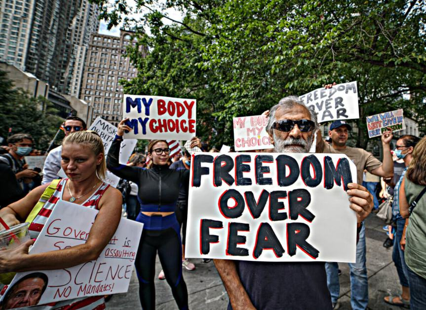 Hey Anti-Vaxxers: What about MYFreedom?